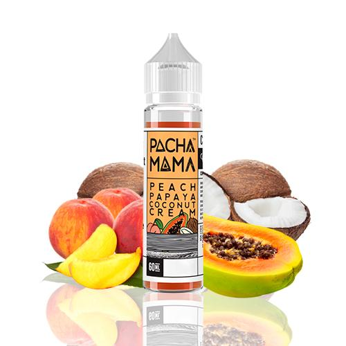 Pachamama Peach Papaya Coconut Cream 50ml (Shortfill) 3