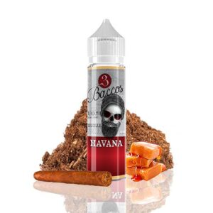 3 Baccos Havana 50ml (Shortfill)