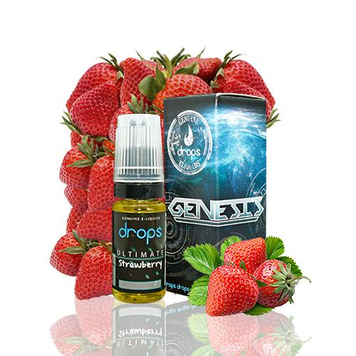 Drops Genesis Ultimate Strawberry 10ml 3