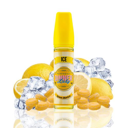 Dinner Lady Ice Lemon Sherbets 50ml (Shortfill) 3