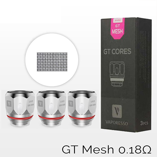 Vaporesso GT Mesh 0,18ohm (Pack 3) 4