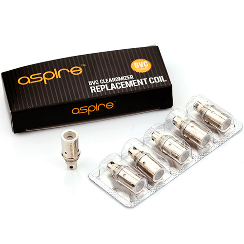 Aspire Clearomizer BVC Coil (Pack 5) 4