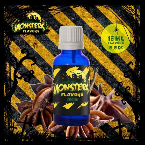 Monsters Flavors Aroma de Anís 15ml 2