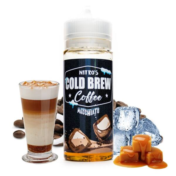 Nitro's Cold Brew Macchiato 100ml (Shortfill) 3