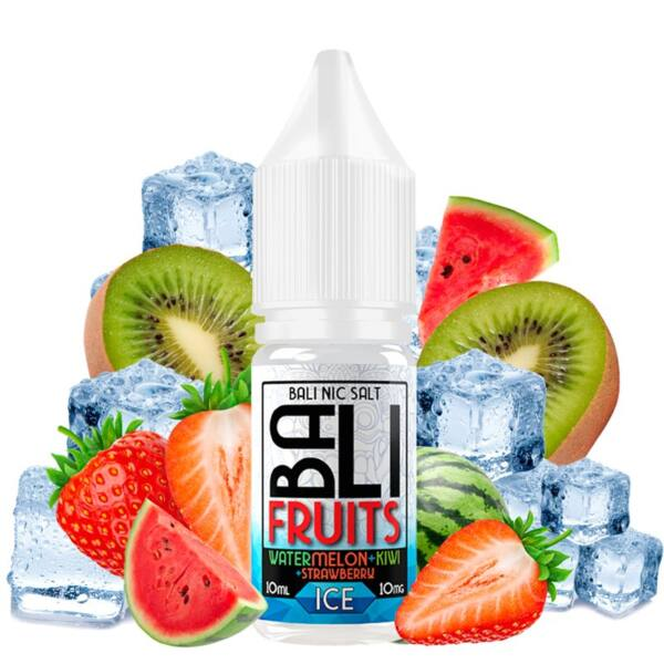 Kings Crest Bali Fruits Salts Watermelon Kiwi Strawberry Ice 10ml 20mg 4