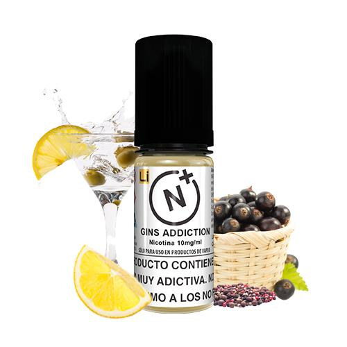 Nicotine Plus Salts Halcyon Haze Gins Addiction 10ml 3