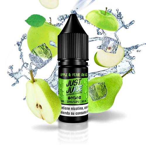 Just Juice 50/50 Apple & Pear On Ice 10ml 3