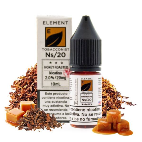 Element E-liquid Salts Honey Roasted 2